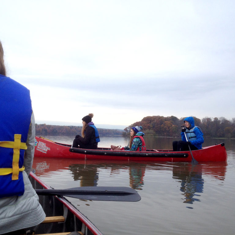 Yes Alliance Fall Canoeing