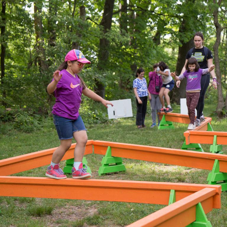 Adventure Challenge Balance Beam Credit Markzelinski.com
