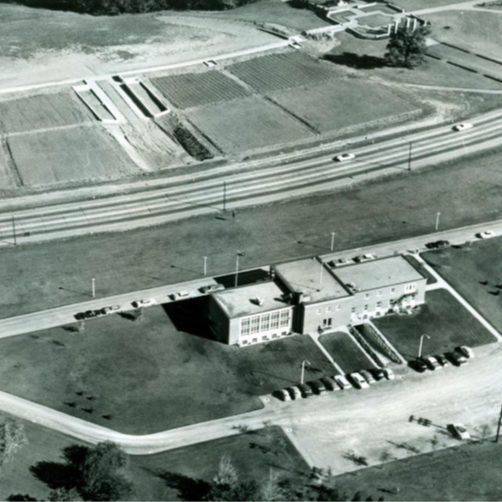 Arial Of Hendrie Park Construction 1963