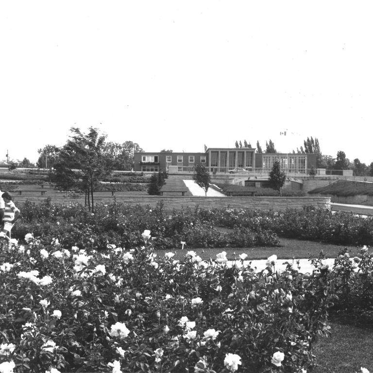 Original Rose Garden August 1970