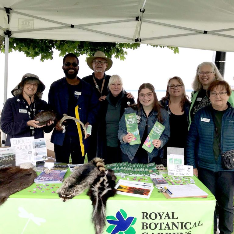 Volunteers At RBG Community Outreach Booth