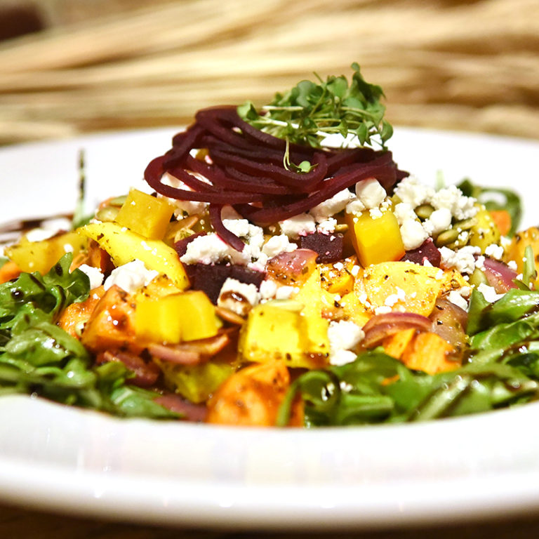 Beet Salad with Feta Cheese