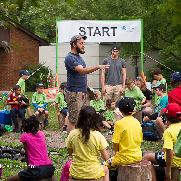 Adventure Challenge Groups Waiting At Start Credit Markzelinski.com