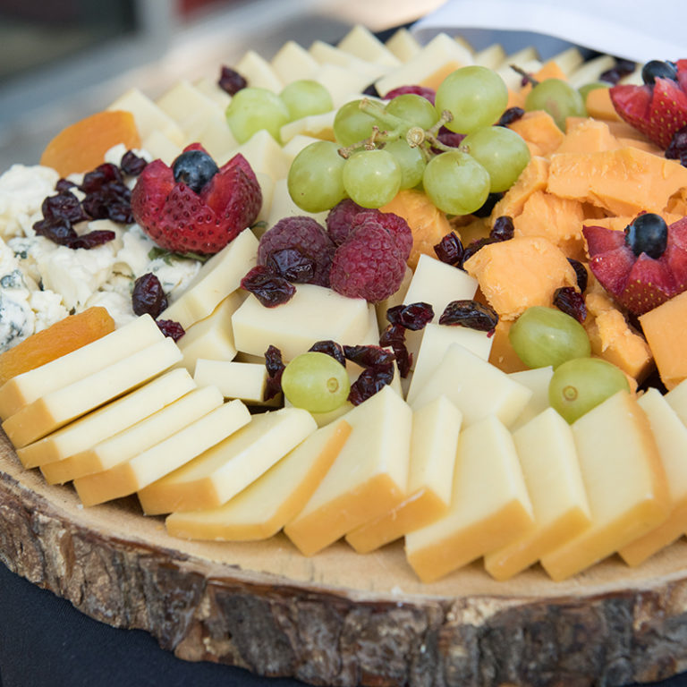 Cheese Platter Closeup