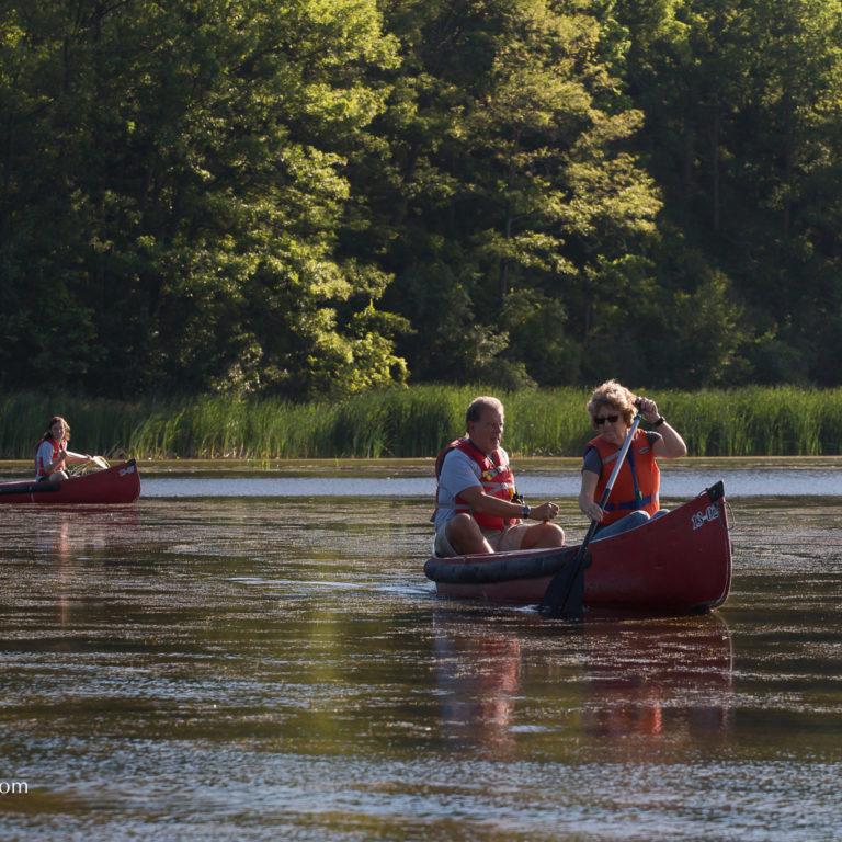 Couple Canoeing Credit Markzelinski.com