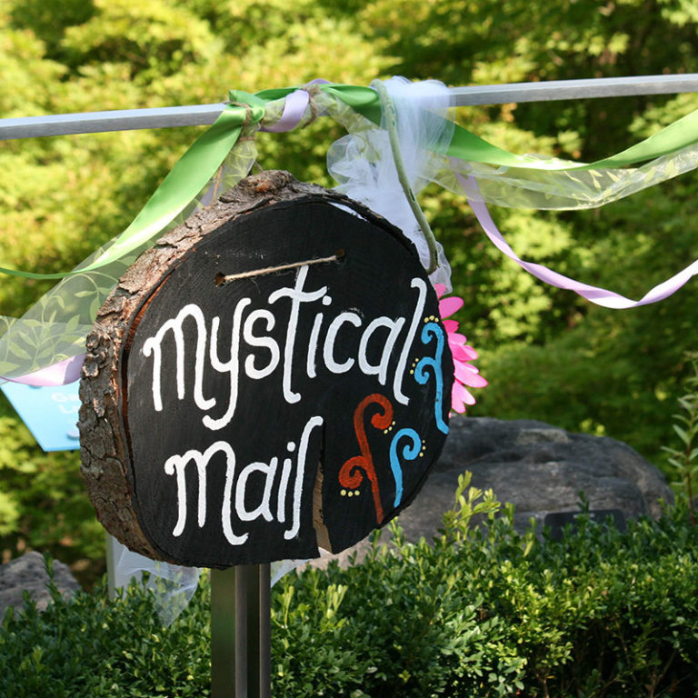 Fairy Mail Sign At Enchanted Weekend