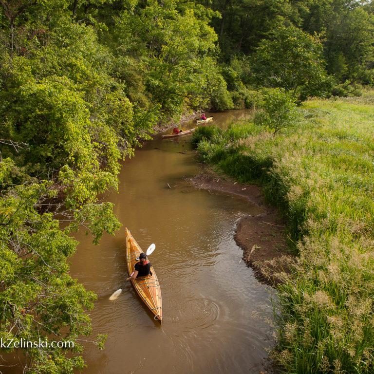 Kayaking Grindstone Creek Credit Markzelinski.com