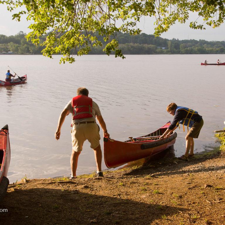 launching canoe cootes paradise credit markzelinski.com