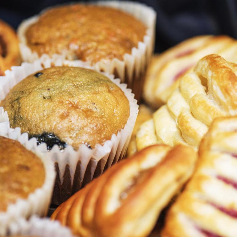 Pastries Closeup